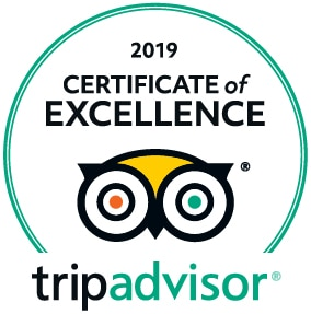 TripAdvisor Certificate of Excellent 2019